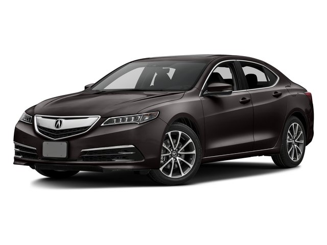 Black Copper Pearl 2016 Acura TLX Pictures TLX Sedan 4D Technology V6 photos front view