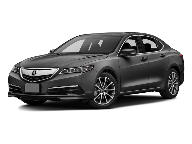 Graphite Luster Metallic 2016 Acura TLX Pictures TLX Sedan 4D Technology V6 photos front view