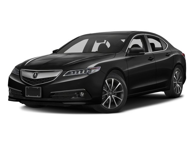 Crystal Black Pearl 2016 Acura TLX Pictures TLX Sedan 4D Advance V6 photos front view