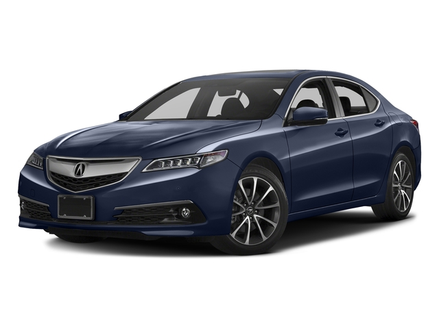 Fathom Blue Pearl 2016 Acura TLX Pictures TLX Sedan 4D Advance V6 photos front view