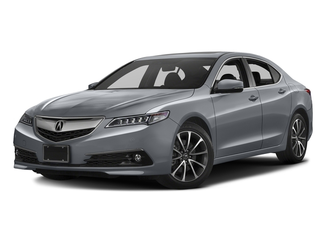 Slate Silver Metallic 2016 Acura TLX Pictures TLX Sedan 4D Advance V6 photos front view