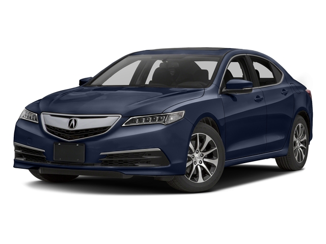 Fathom Blue Pearl 2016 Acura TLX Pictures TLX Sedan 4D I4 photos front view
