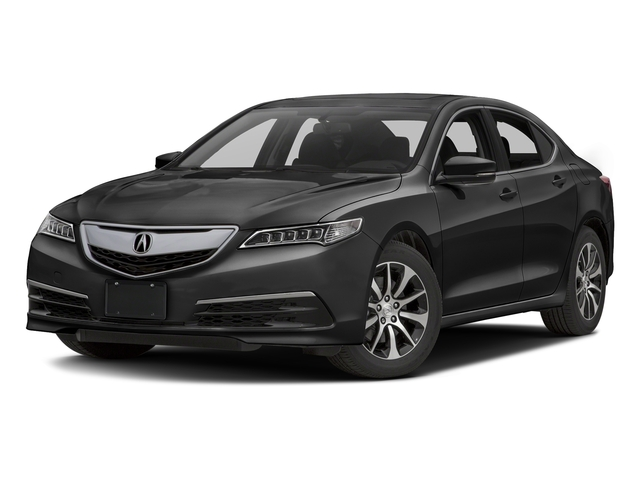 Graphite Luster Metallic 2016 Acura TLX Pictures TLX Sedan 4D I4 photos front view