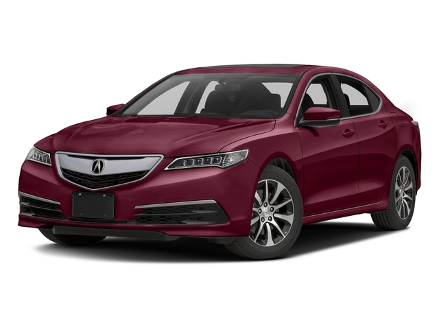 Basque Red Pearl II 2016 Acura TLX Pictures TLX Sedan 4D I4 photos front view