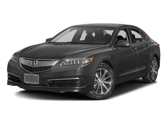 Graphite Luster Metallic 2016 Acura TLX Pictures TLX Sedan 4D Technology I4 photos front view