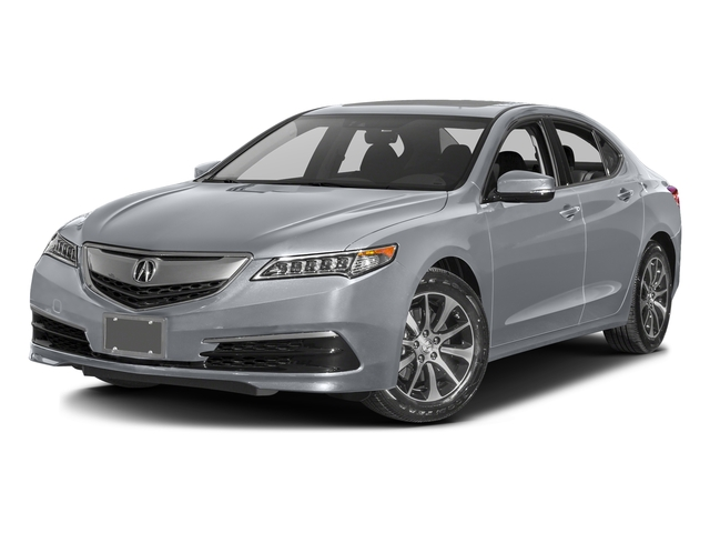 Slate Silver Metallic 2016 Acura TLX Pictures TLX Sedan 4D Technology I4 photos front view