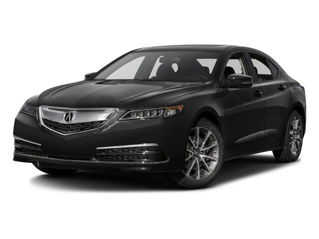 Crystal Black Pearl 2016 Acura TLX Pictures TLX Sedan 4D V6 photos front view