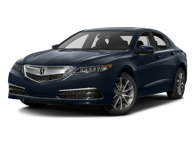 Fathom Blue Pearl 2016 Acura TLX Pictures TLX Sedan 4D V6 photos front view