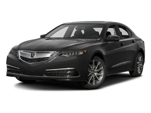 Graphite Luster Metallic 2016 Acura TLX Pictures TLX Sedan 4D V6 photos front view