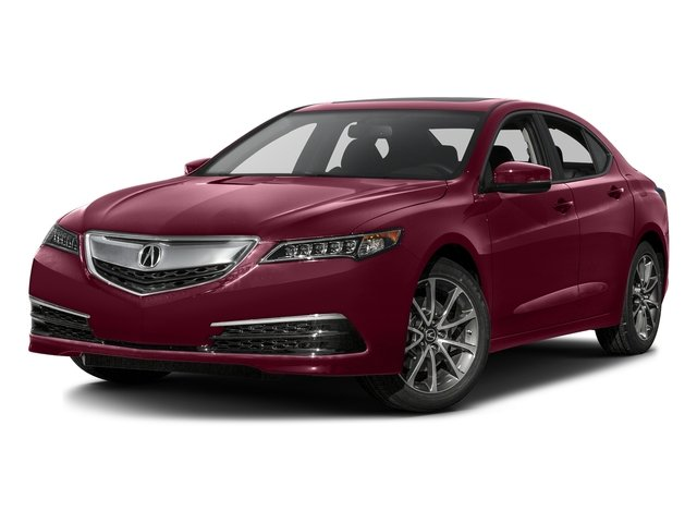 Basque Red Pearl II 2016 Acura TLX Pictures TLX Sedan 4D V6 photos front view