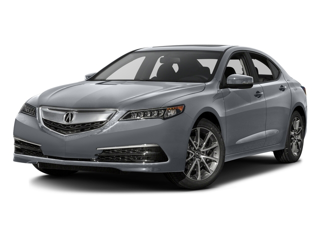 Slate Silver Metallic 2016 Acura TLX Pictures TLX Sedan 4D V6 photos front view