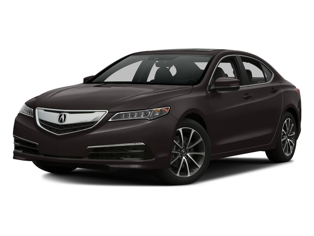 Black Copper Pearl 2016 Acura TLX Pictures TLX Sedan 4D Technology AWD V6 photos front view