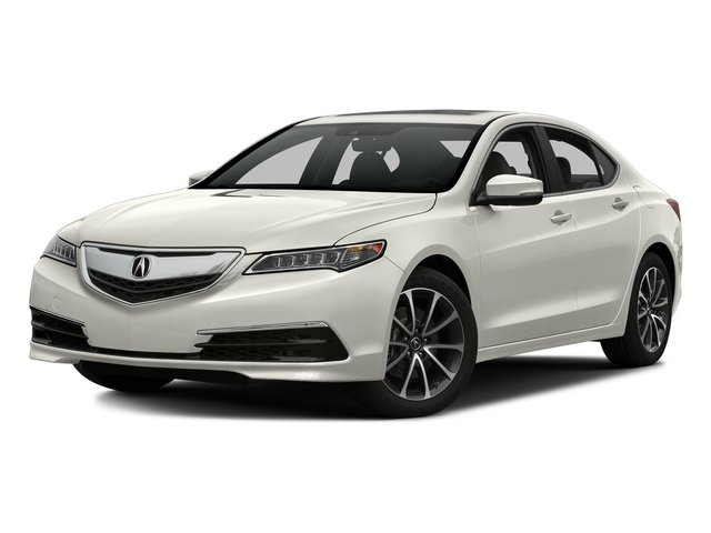 Bellanova White Pearl 2016 Acura TLX Pictures TLX Sedan 4D Technology AWD V6 photos front view