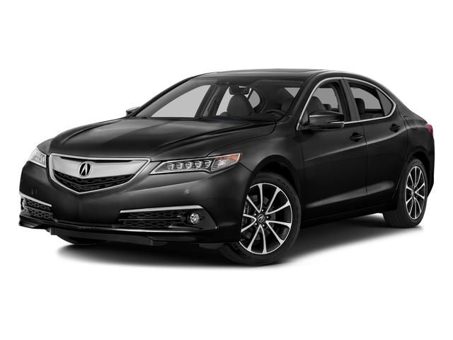 Crystal Black Pearl 2016 Acura TLX Pictures TLX Sedan 4D Advance AWD V6 photos front view