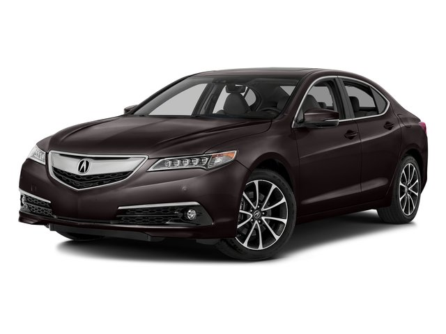 Black Copper Pearl 2016 Acura TLX Pictures TLX Sedan 4D Advance AWD V6 photos front view