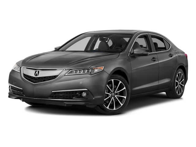 Graphite Luster Metallic 2016 Acura TLX Pictures TLX Sedan 4D Advance AWD V6 photos front view