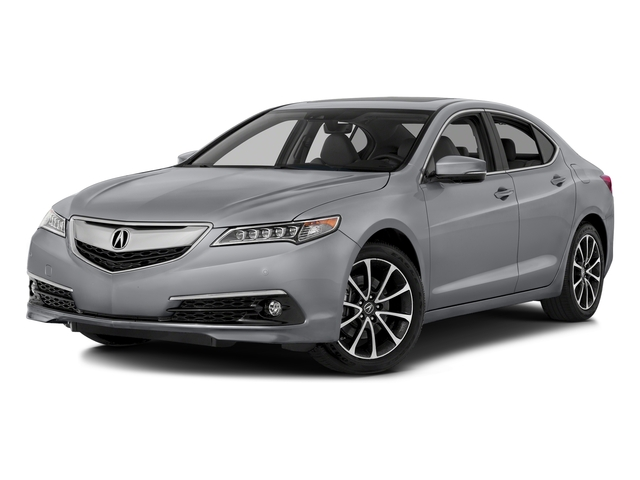 Slate Silver Metallic 2016 Acura TLX Pictures TLX Sedan 4D Advance AWD V6 photos front view