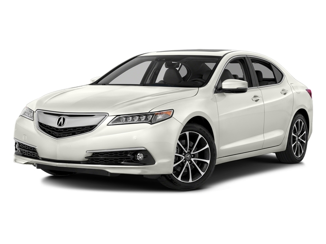 Bellanova White Pearl 2016 Acura TLX Pictures TLX Sedan 4D Advance AWD V6 photos front view