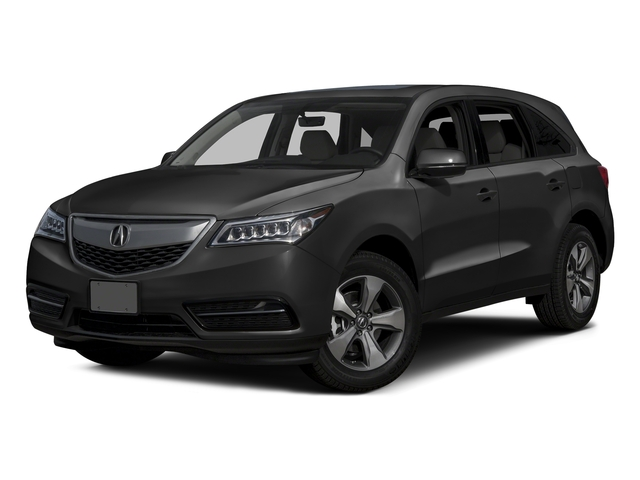 Graphite Luster Metallic 2016 Acura MDX Pictures MDX Utility 4D AWD V6 photos front view