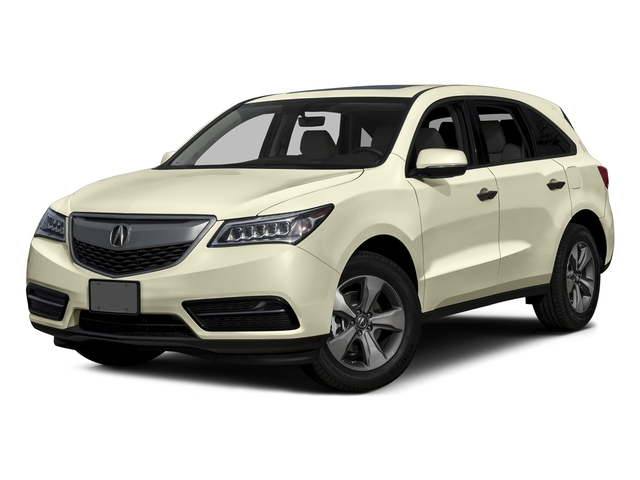 White Diamond Pearl 2016 Acura MDX Pictures MDX Utility 4D AWD V6 photos front view