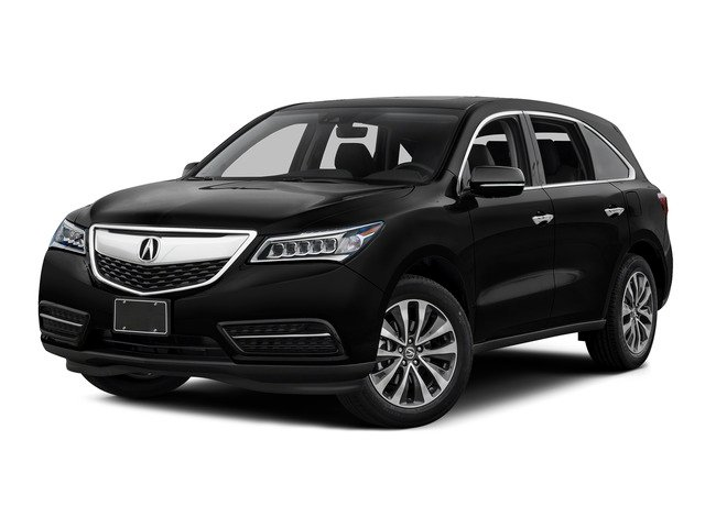 Crystal Black Pearl 2016 Acura MDX Pictures MDX Utility 4D Technology 2WD V6 photos front view
