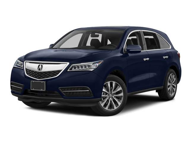 Fathom Blue Pearl 2016 Acura MDX Pictures MDX Utility 4D Technology 2WD V6 photos front view