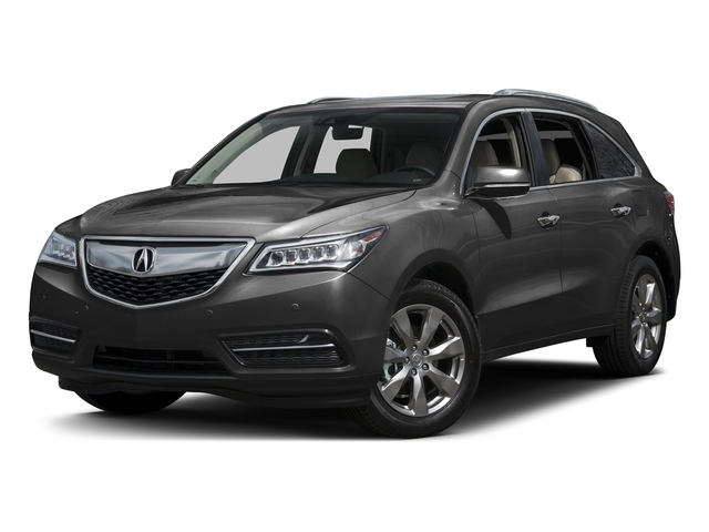 Graphite Luster Metallic 2016 Acura MDX Pictures MDX Utility 4D Advance AWD V6 photos front view