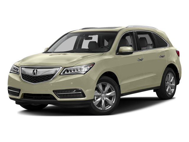White Diamond Pearl 2016 Acura MDX Pictures MDX Utility 4D Advance DVD 2WD V6 photos front view
