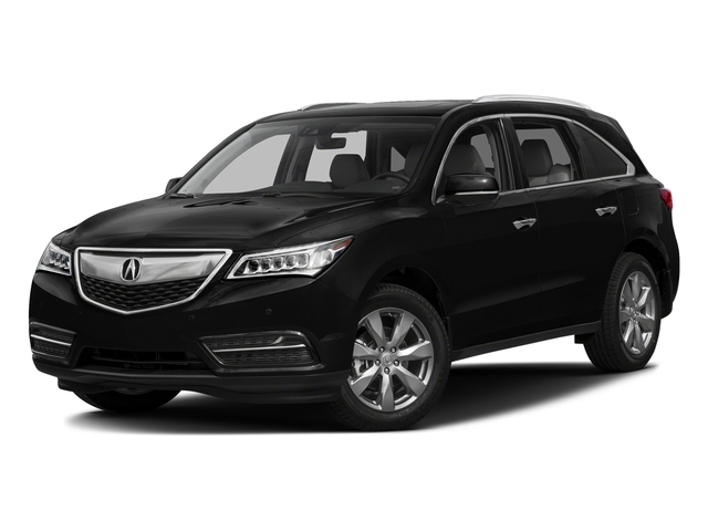Crystal Black Pearl 2016 Acura MDX Pictures MDX Utility 4D Advance DVD AWD V6 photos front view