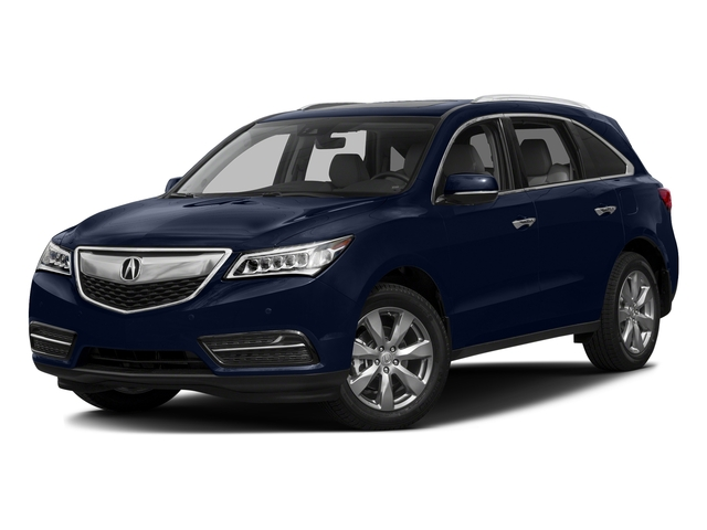 Fathom Blue Pearl 2016 Acura MDX Pictures MDX Utility 4D Advance DVD AWD V6 photos front view