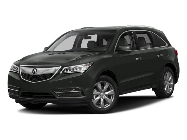 Forest Mist Metallic 2016 Acura MDX Pictures MDX Utility 4D Advance DVD AWD V6 photos front view