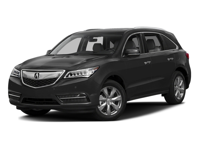 Graphite Luster Metallic 2016 Acura MDX Pictures MDX Utility 4D Advance DVD AWD V6 photos front view