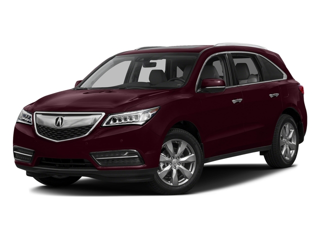 Dark Cherry Pearl 2016 Acura MDX Pictures MDX Utility 4D Advance DVD AWD V6 photos front view