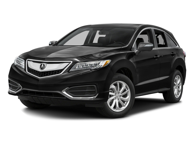 Crystal Black Pearl 2016 Acura RDX Pictures RDX Utility 4D Technology AWD V6 photos front view
