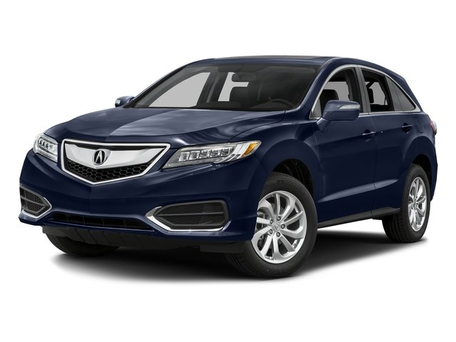 Fathom Blue Pearl 2016 Acura RDX Pictures RDX Utility 4D Technology AWD V6 photos front view