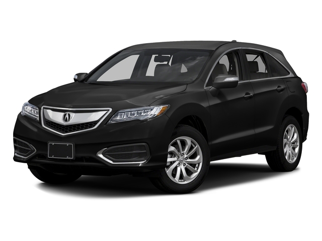 Crystal Black Pearl 2016 Acura RDX Pictures RDX Utility 4D Technology 2WD V6 photos front view