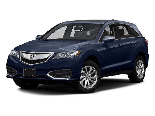 Fathom Blue Pearl 2016 Acura RDX Pictures RDX Utility 4D Technology 2WD V6 photos front view