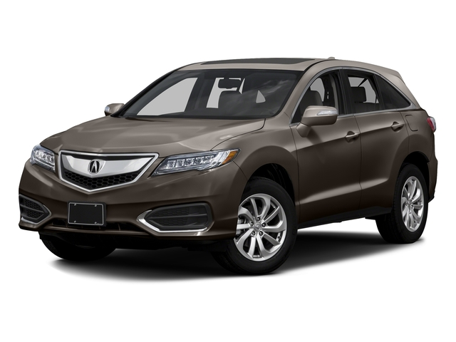 Kona Coffee Metallic 2016 Acura RDX Pictures RDX Utility 4D Technology 2WD V6 photos front view