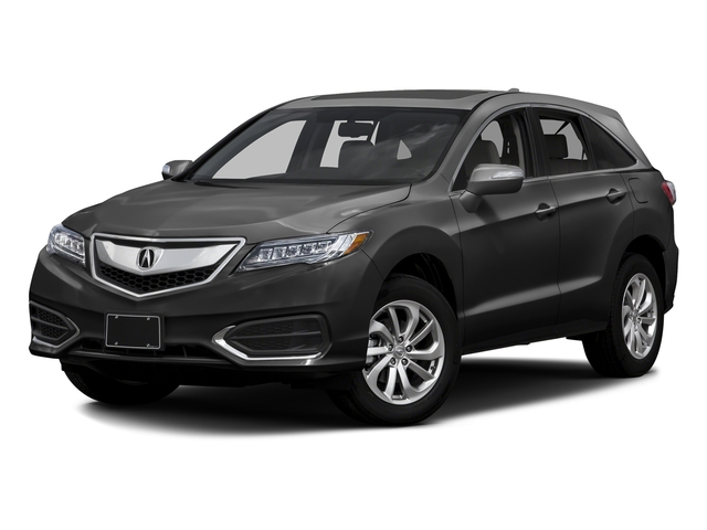 Graphite Luster Metallic 2016 Acura RDX Pictures RDX Utility 4D Technology 2WD V6 photos front view