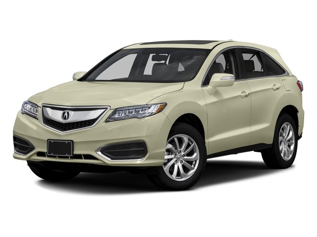 White Diamond Pearl 2016 Acura RDX Pictures RDX Utility 4D Technology 2WD V6 photos front view