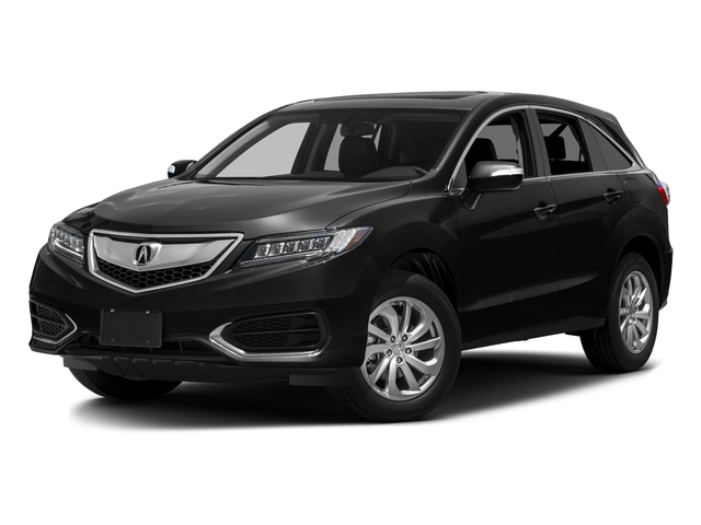 Crystal Black Pearl 2016 Acura RDX Pictures RDX Utility 4D 2WD V6 photos front view