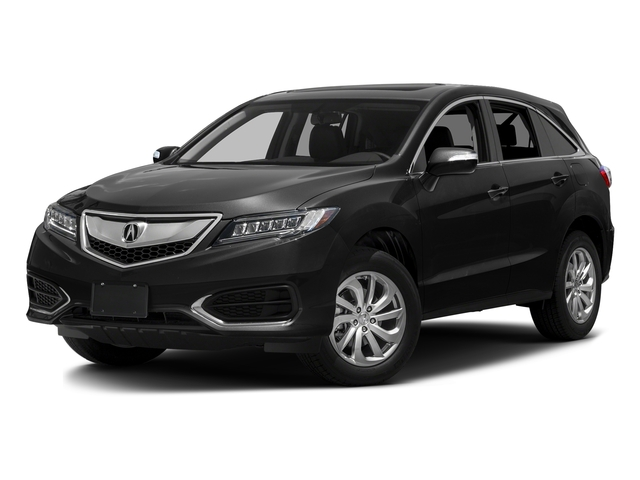 Graphite Luster Metallic 2016 Acura RDX Pictures RDX Utility 4D 2WD V6 photos front view