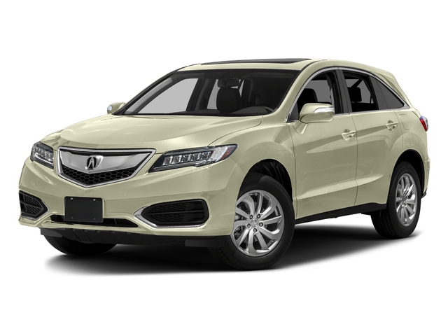 White Diamond Pearl 2016 Acura RDX Pictures RDX Utility 4D 2WD V6 photos front view