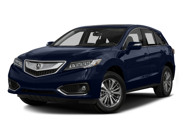 Fathom Blue Pearl 2016 Acura RDX Pictures RDX Utility 4D Advance AWD V6 photos front view