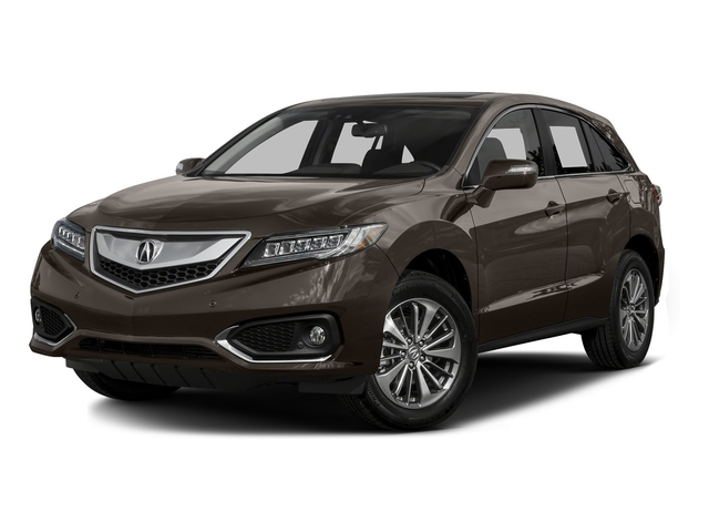 Kona Coffee Metallic 2016 Acura RDX Pictures RDX Utility 4D Advance AWD V6 photos front view