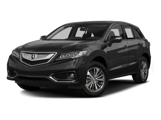 Graphite Luster Metallic 2016 Acura RDX Pictures RDX Utility 4D Advance AWD V6 photos front view