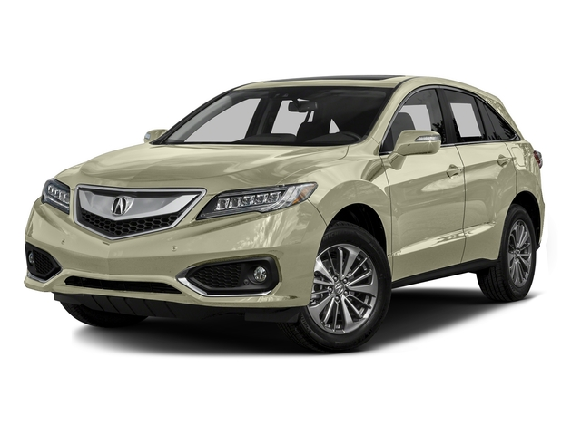 White Diamond Pearl 2016 Acura RDX Pictures RDX Utility 4D Advance AWD V6 photos front view