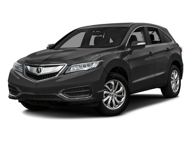 Graphite Luster Metallic 2016 Acura RDX Pictures RDX Utility 4D AWD V6 photos front view