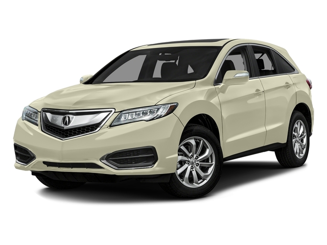 White Diamond Pearl 2016 Acura RDX Pictures RDX Utility 4D AWD V6 photos front view
