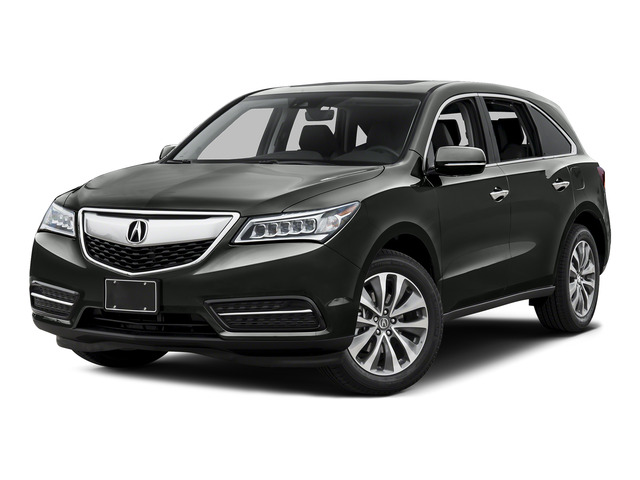 Forest Mist Metallic 2016 Acura MDX Pictures MDX Utility 4D Technology DVD AWD V6 photos front view